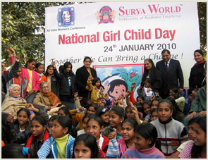 SUPPORTING-UNICEF'S-'MEENA'-CONCEPT-TO-SAVE-THE-GIRL-CHILD